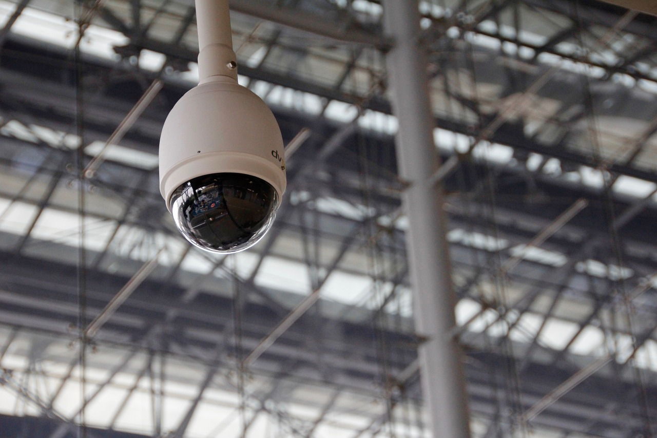 This is an image of a surveillance camera.