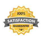 This is an image of satisfaction guarantee.